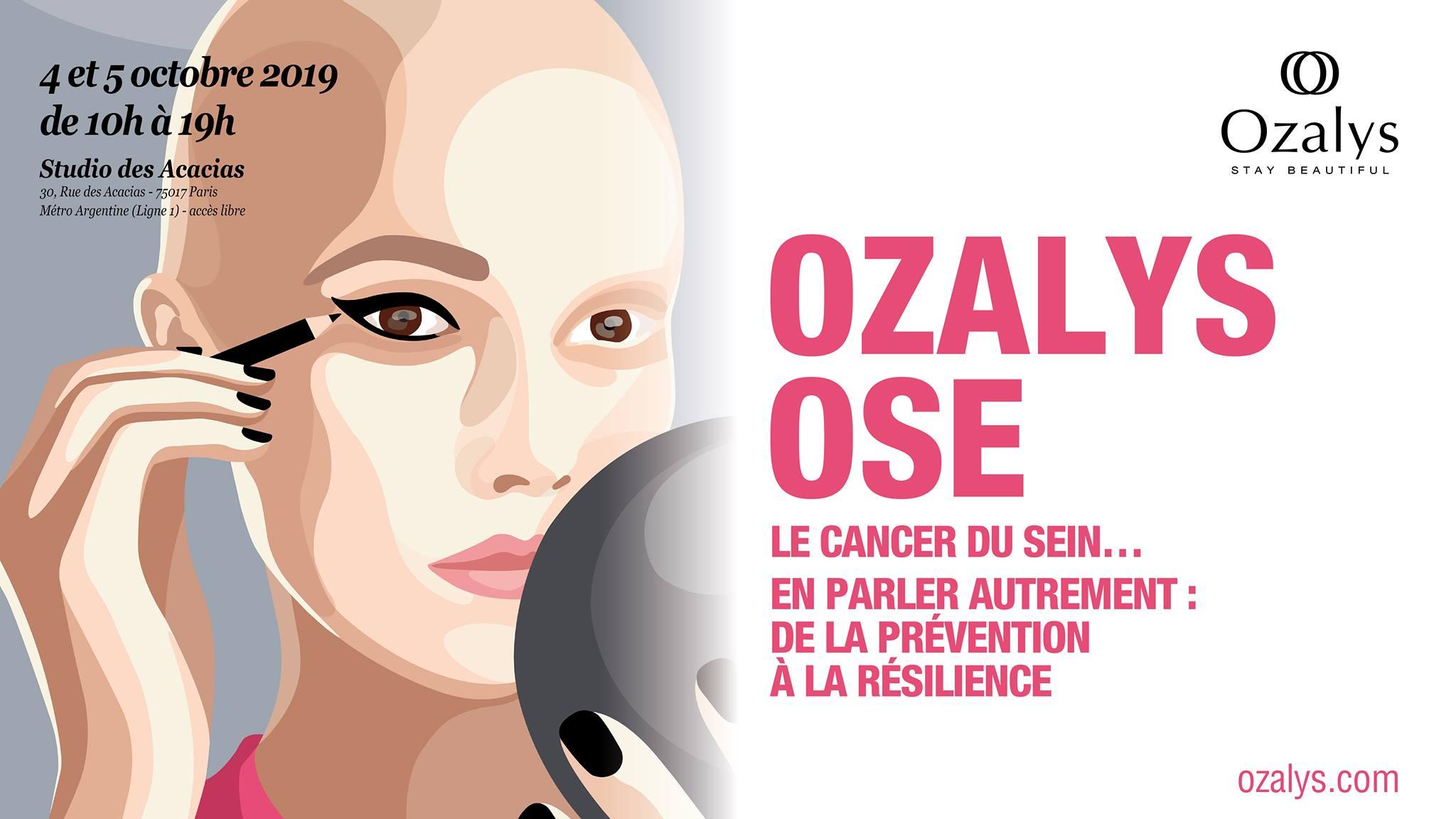 événement Ozalys Ose Octobre Rose